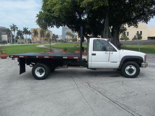 2000 Chevrolet 3500 Flatbed 10 ' Gas 4x4 Florida photo