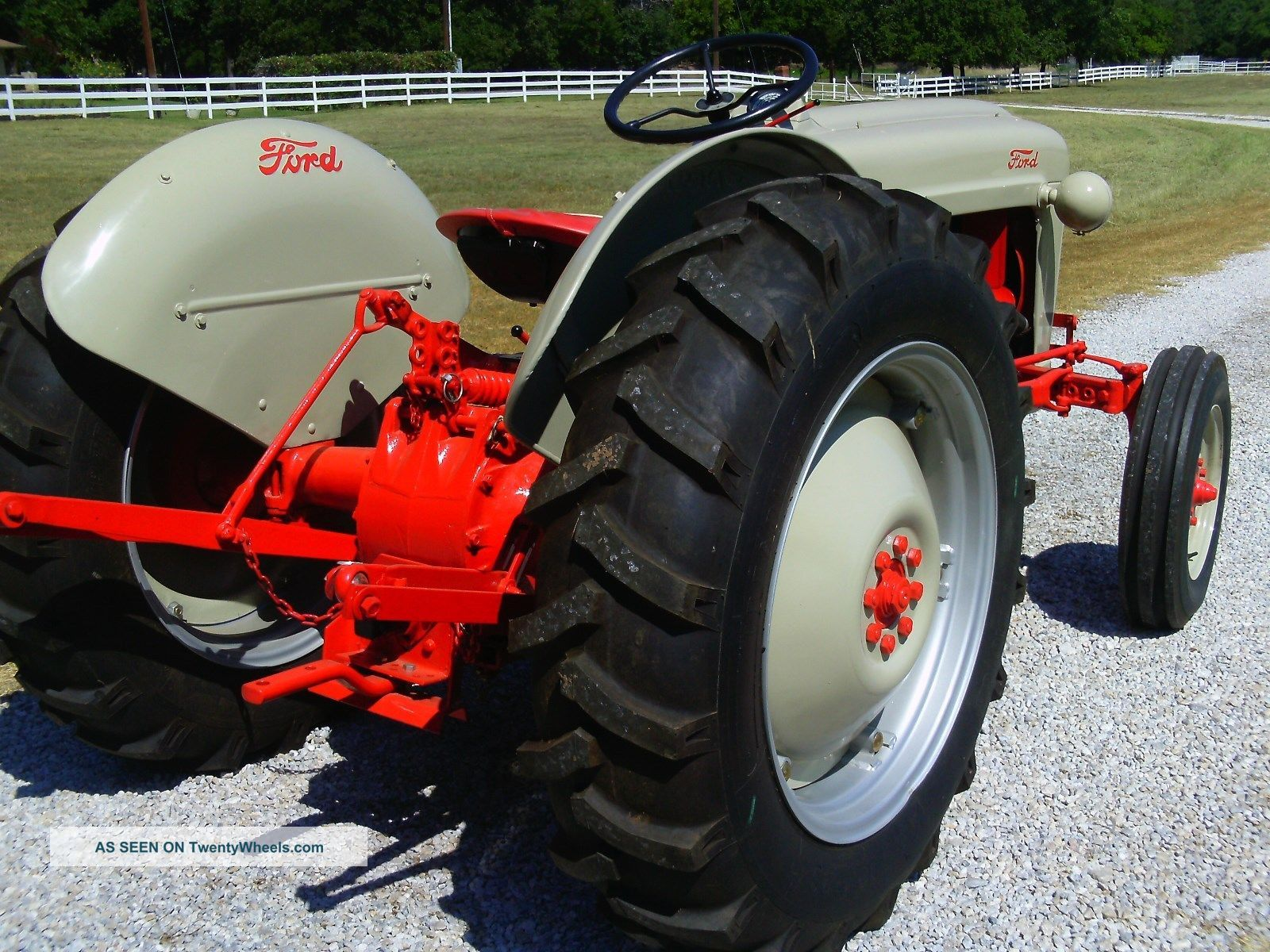 Ford Jubilee Parts : Ford tractor golden jubilee