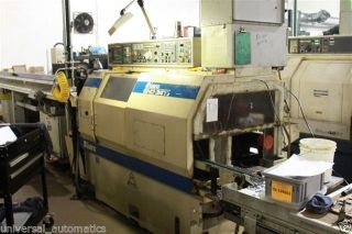 Miyano Bnd - 34t2 Cnc Lathe 1995 W/live Tools,  End Work Turret,  34mm Bar Cap photo
