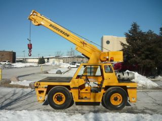 Broderson Ic80 Carry Deck Crane Dual Fuel Ball And Block 2011 Broderson Refurb photo