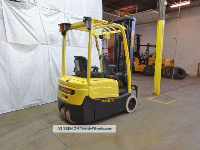 Hydraulic Lift Cushion : Hyser j xnt lb cushion forklift electric v