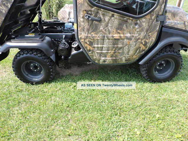 2012 Kubota Rtv1100 Utv Utility Vehicle 4x4 Diesel Side By ...