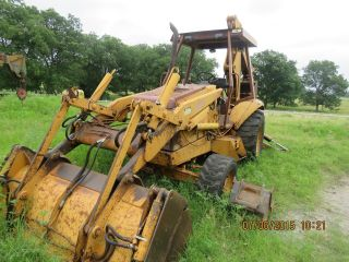 1990 Case 580k 4x4 Backhoe Loader.  Case Backhoe Loader,  Case Loader Backhoe photo