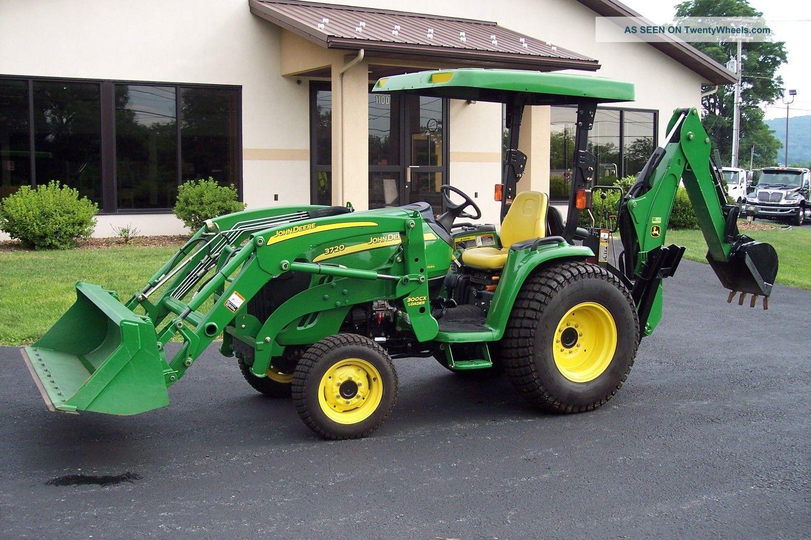 John Deere 3720 Attachments : John deere tractor