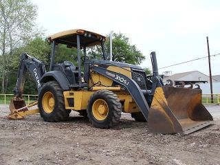 2007 John Deere 310sj Backhoe - Loader Backhoe - Backhoe - Loader - Deere - 26 Pics photo