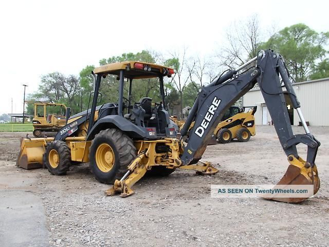 2007 John Deere 310sj Backhoe - Loader Backhoe - Backhoe - Loader - Deere