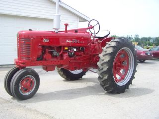 Farmall 300 Tractor Restored For Display Or Parade photo