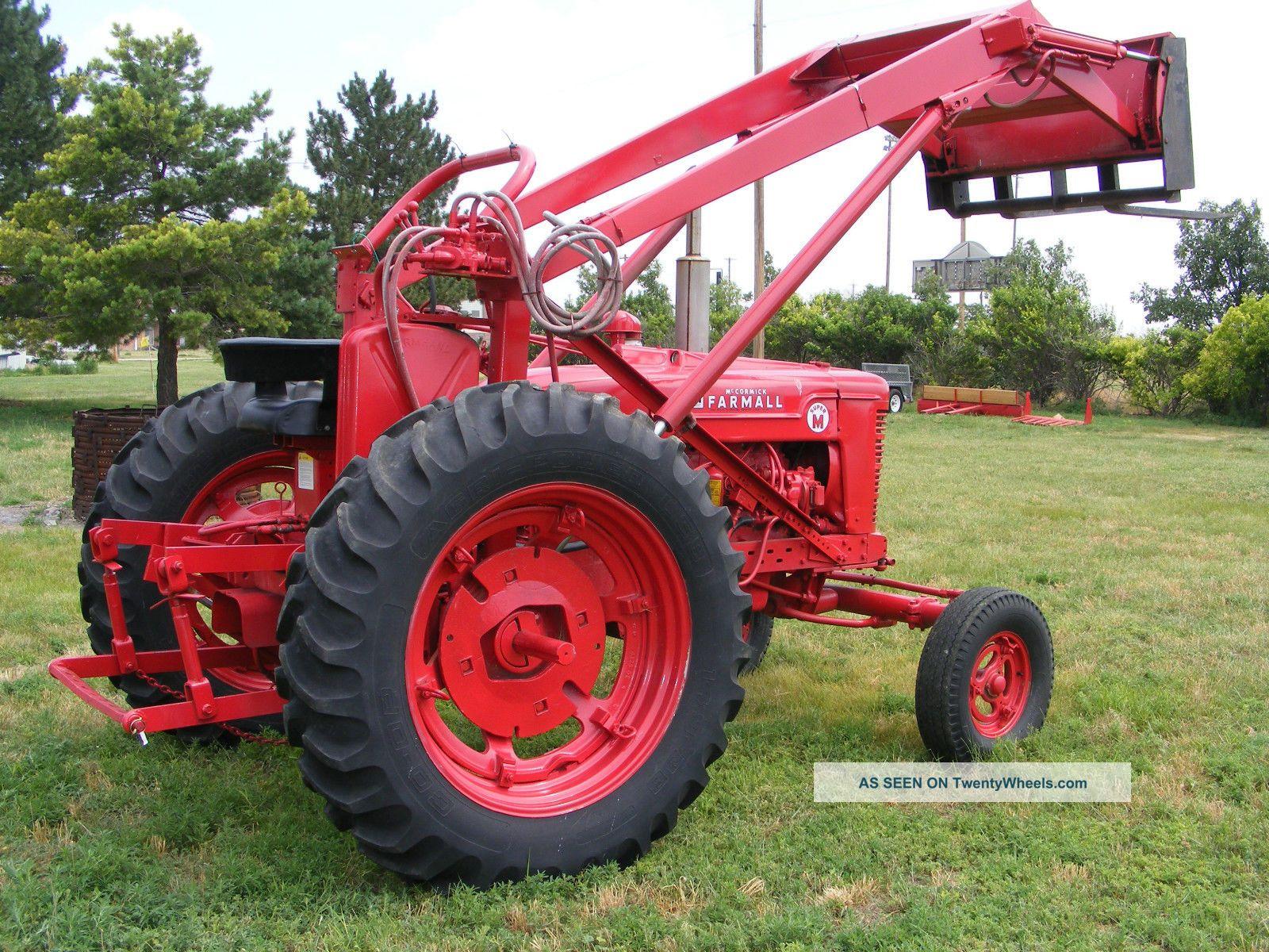 Farmall M Specifications : Quot m farmall tractor
