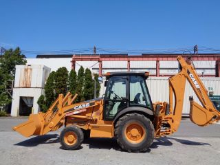 2009 Case 580m Series 3 Backhoe Loader - 4x4 - Extendahoe - Ac & Heat - Diesel photo