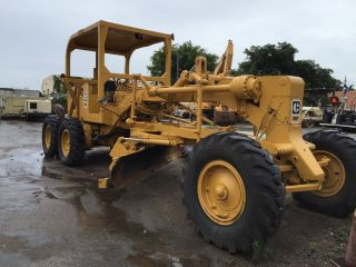 1974 Caterpillar 12f Motorgrader photo