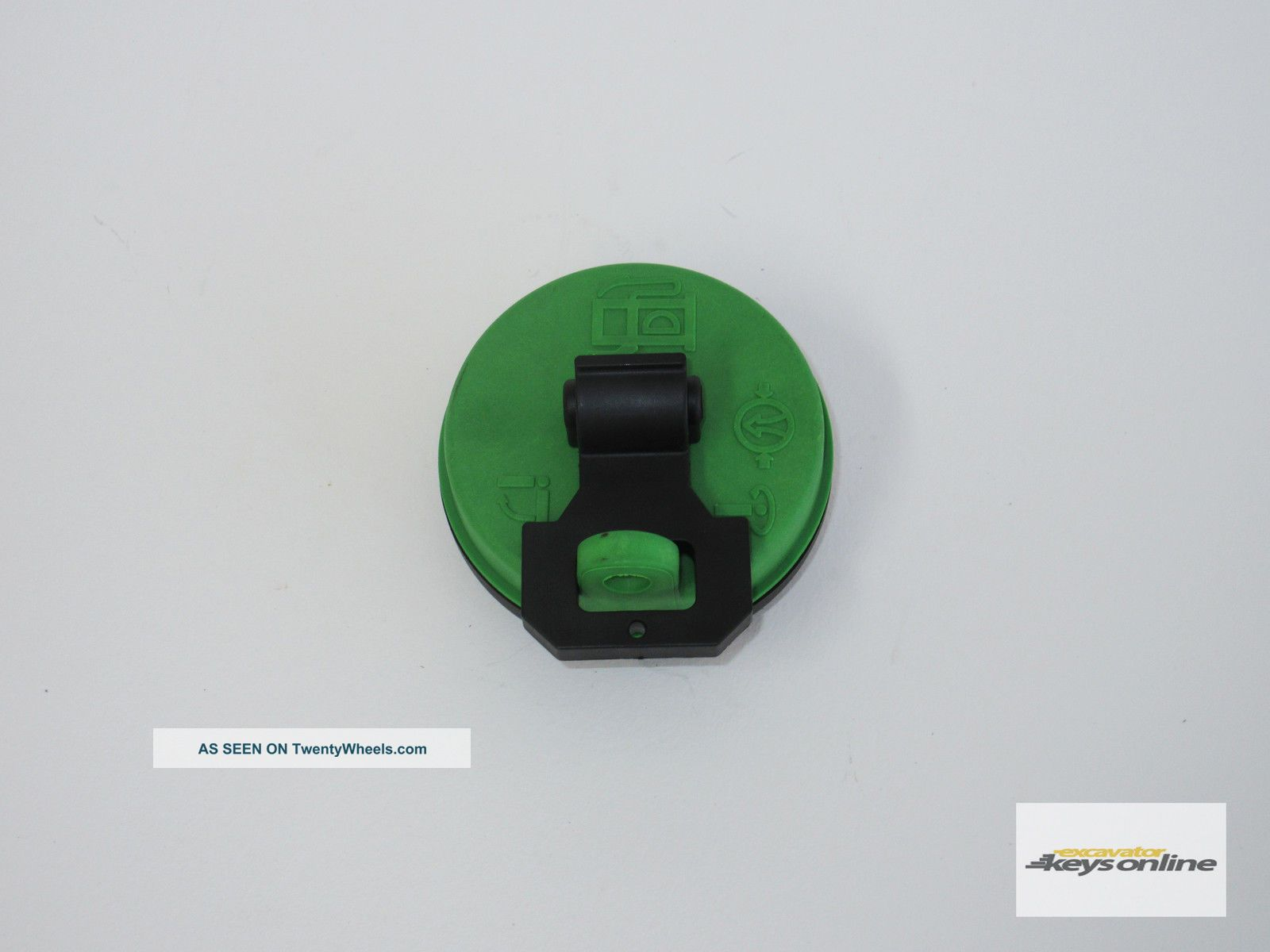 Terex Fuel Cap Green Part Number 2045 - 407 Uncategorized photo