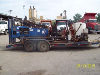 American Directional Drill Dd1 With Trailer photo