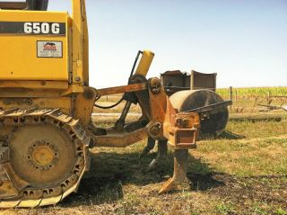 John Deere 450g 550g 650g 455g 555g Ripper Dozer Bulldozer Loader 5 Shank photo