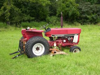 1978 International Harvester Model 284 Compact Tractor photo