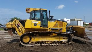 John Deere 850k Bulldozer With Vail Ripper photo