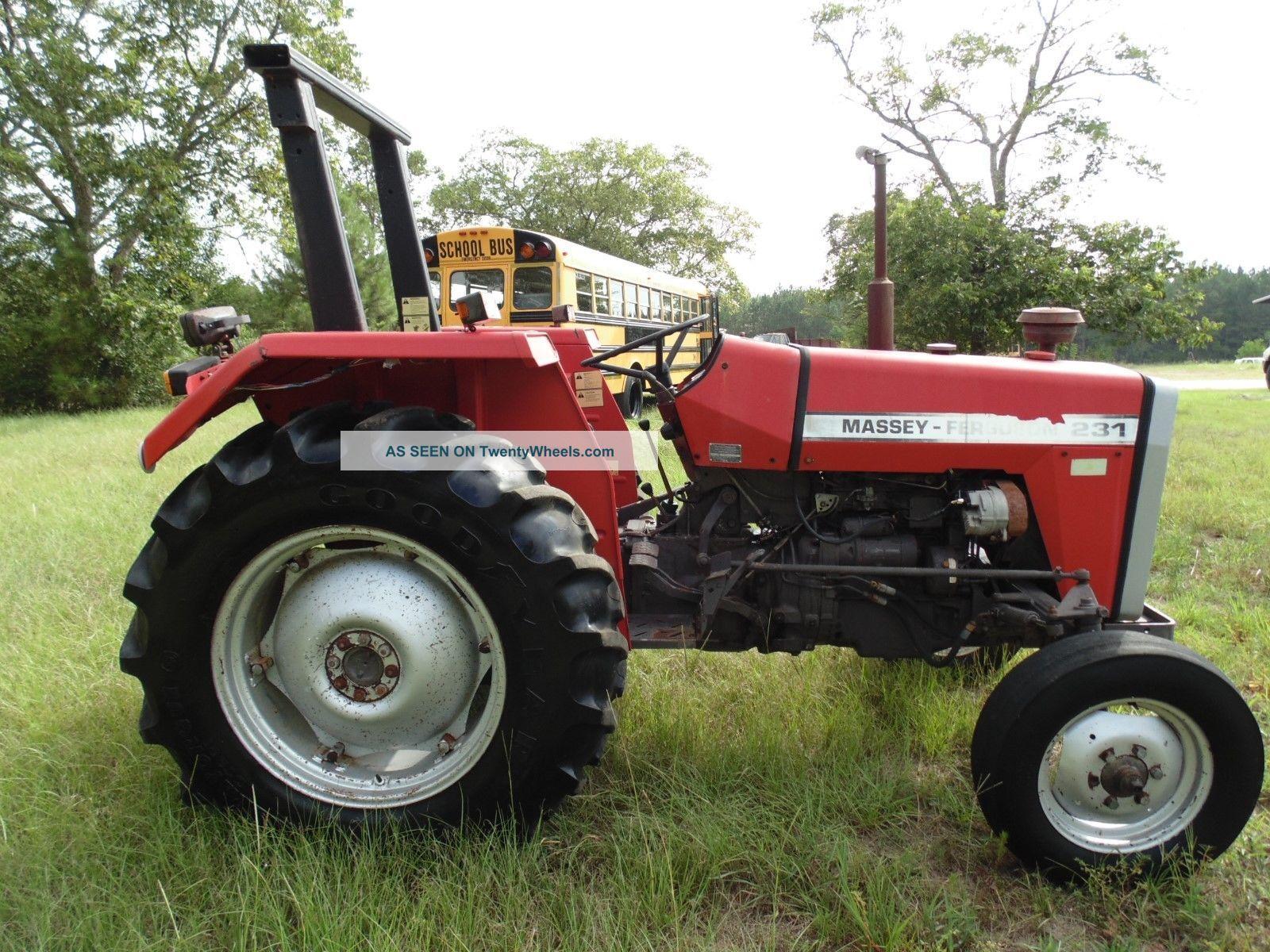 Massey Ferguson 231 Tractor : Massey ferguson farm tractor horsepower diesel in