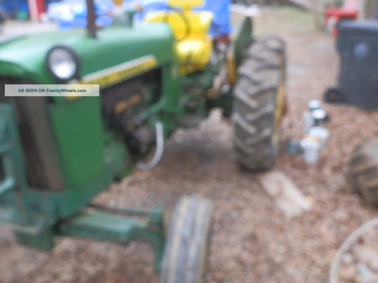 Tractor Live Pto : John deere tractor with live pto and power steering
