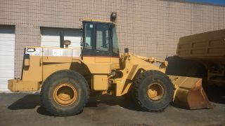 Caterpillar 950f,  Payloader,  8,  500 Hours photo