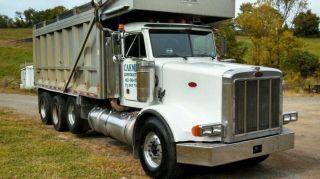 1997 Peterbilt 357 Tri Axle Dump Truck photo