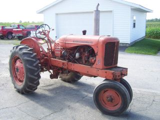 Allis - Chalmers Wd - 45 With Power Steering And 3pt. photo