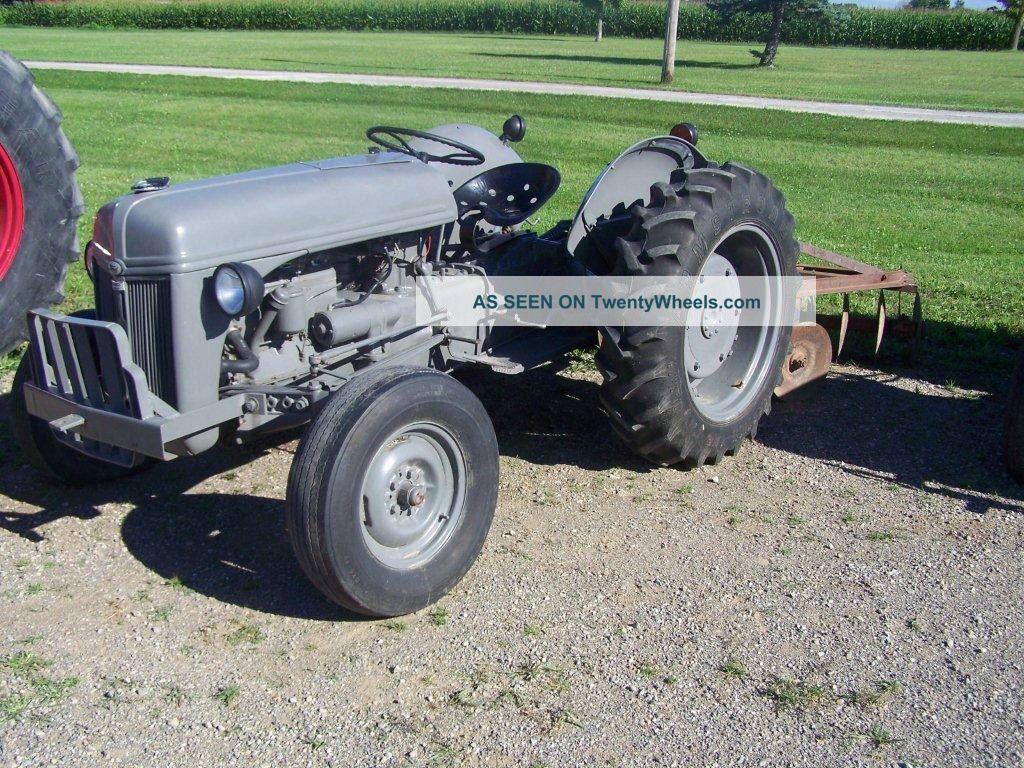 Ford Ferguson Tractor : Ford ferguson tractor
