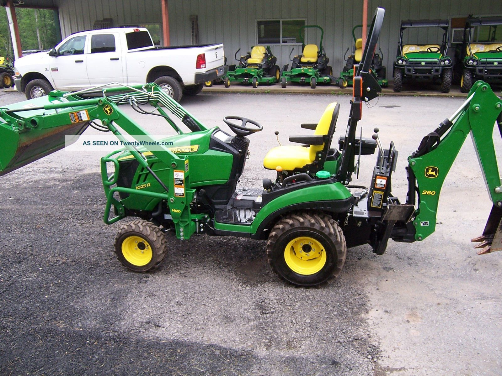John Deere 1025R Attachments Bing images