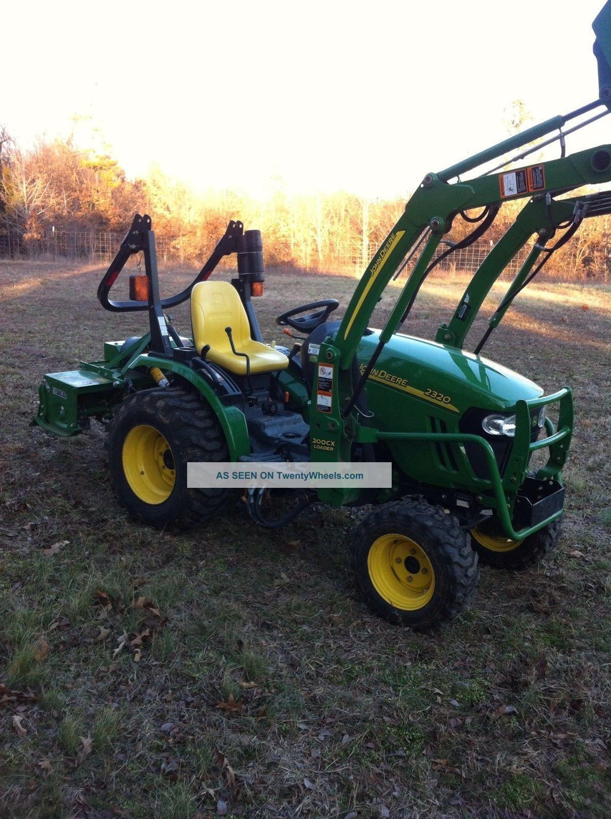 Jd 2320 Mower Adj : John deere tractor