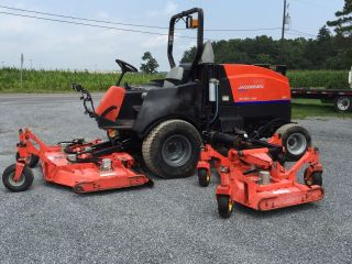 Jacobsen Hr9016 Batwing / Wide Area Mower 16 Ft Cut,  90hp photo