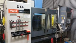 Mazak Mtv515 Cnc Vetical Machining Center Ct50 40x16 Mazatrol Mplus 30hp (1998) photo