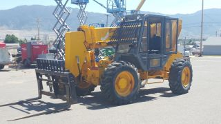 Jcb 506c Turbocharged Loadall Telescopic Forklift photo