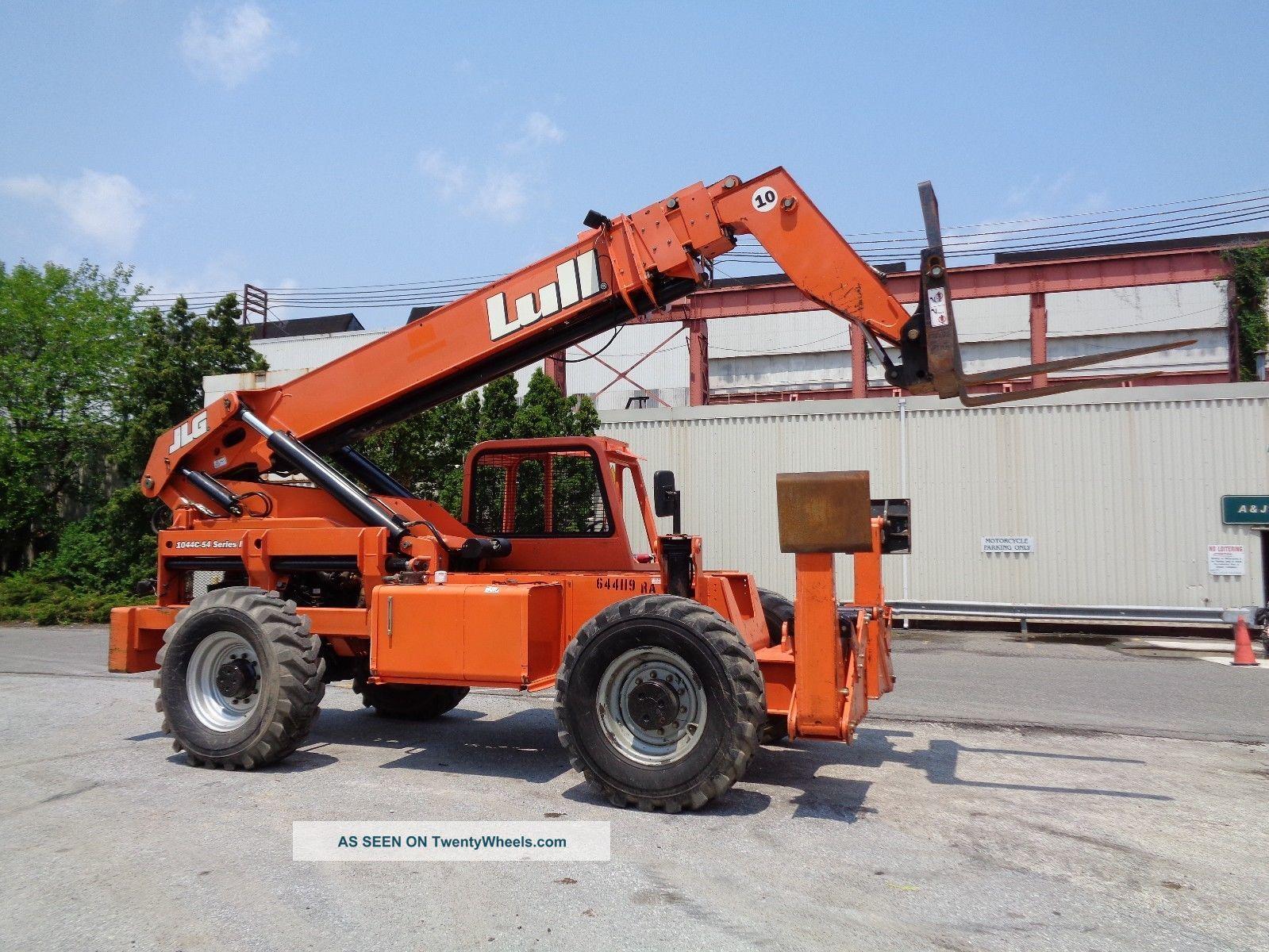Four Way Side Loader Forklift Mitsubishi Rbm2025k Series: 54 Series2 10, 000 Lbs 4x4 Forklift