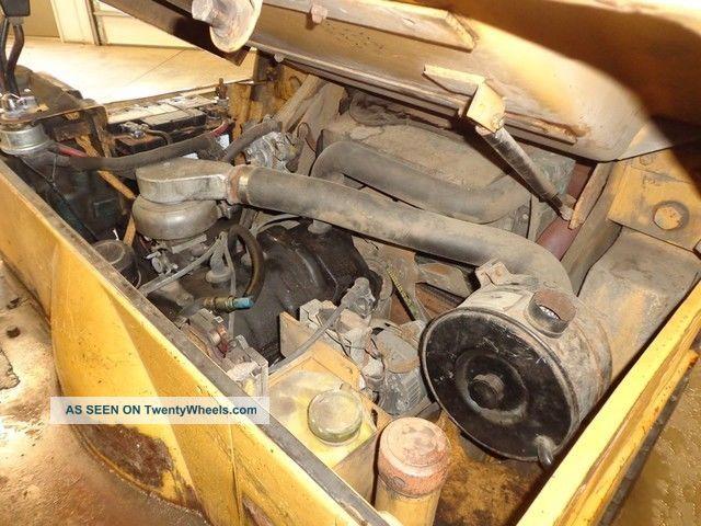 1991 Caterpillar V50d Lp Propane Forklift Concrete Inside Outside