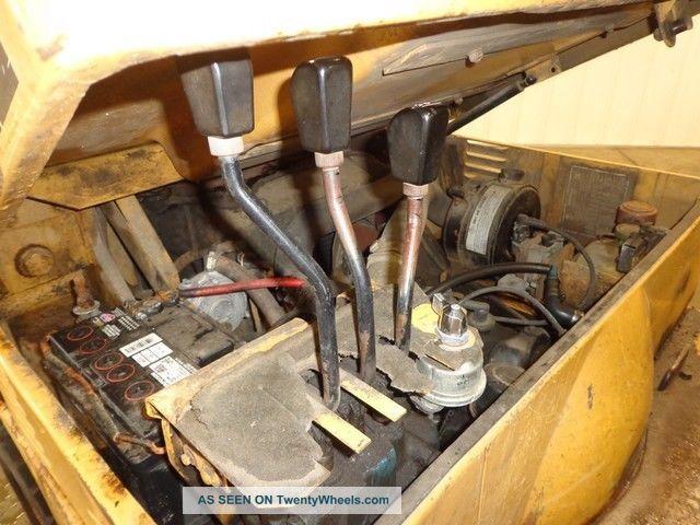 1991 Caterpillar V50d Lp Propane Forklift Concrete Inside