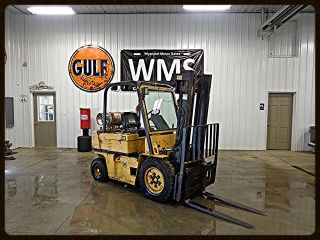 1991 Caterpillar V50d Lp Propane Forklift Concrete Inside Outside Tow Motor Wms photo