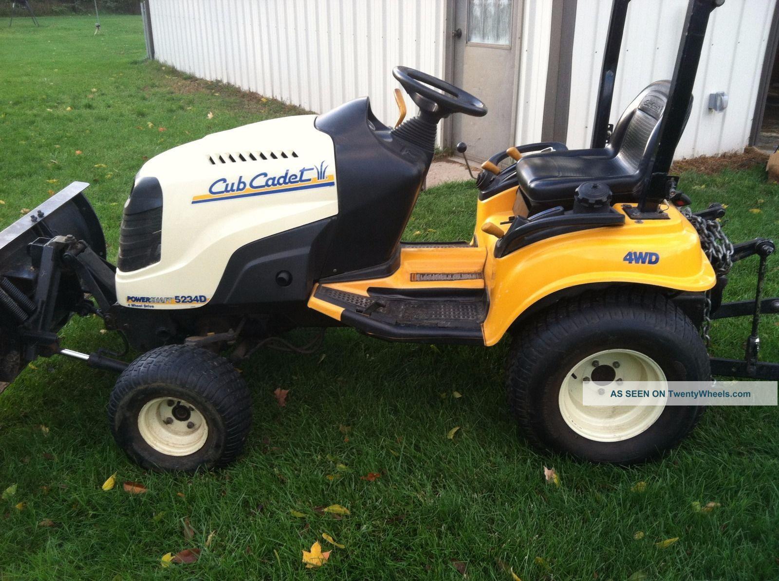 Cub Cadet Compact Tractors : Cub cadet sub compact tractor d