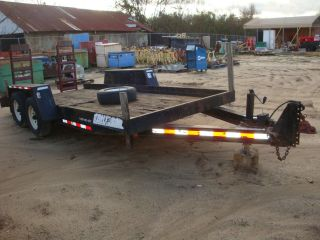 2004 Towmaster 16 ' 10,  000 Lb.  Trailer photo