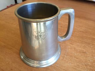 Vintage Massey Ferguson Tractor Pewter Tankard - Australian Made photo