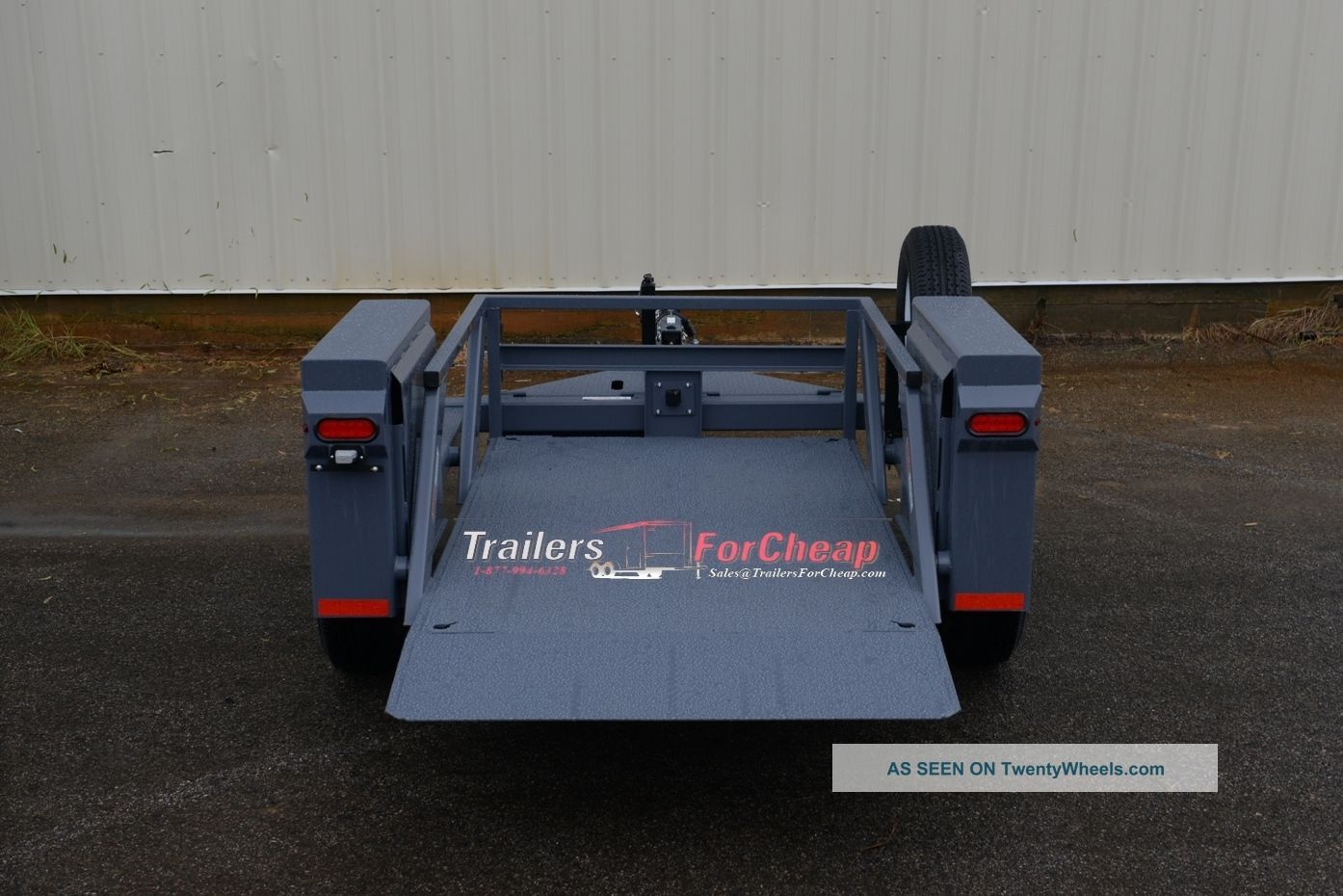 Hydraulic Drop Deck Trailers : Anderson hgl single axle hydraulic drop deck