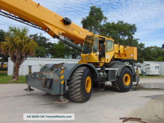 Power Wheels Crane : Grove rt e rough terrain ton crane section