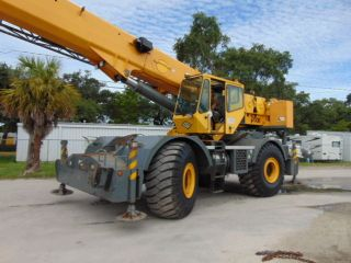2006 Grove Rt - 700e Rough Terrain 60 Ton Crane 4 Section 110 ' Power Boom 4x4 photo