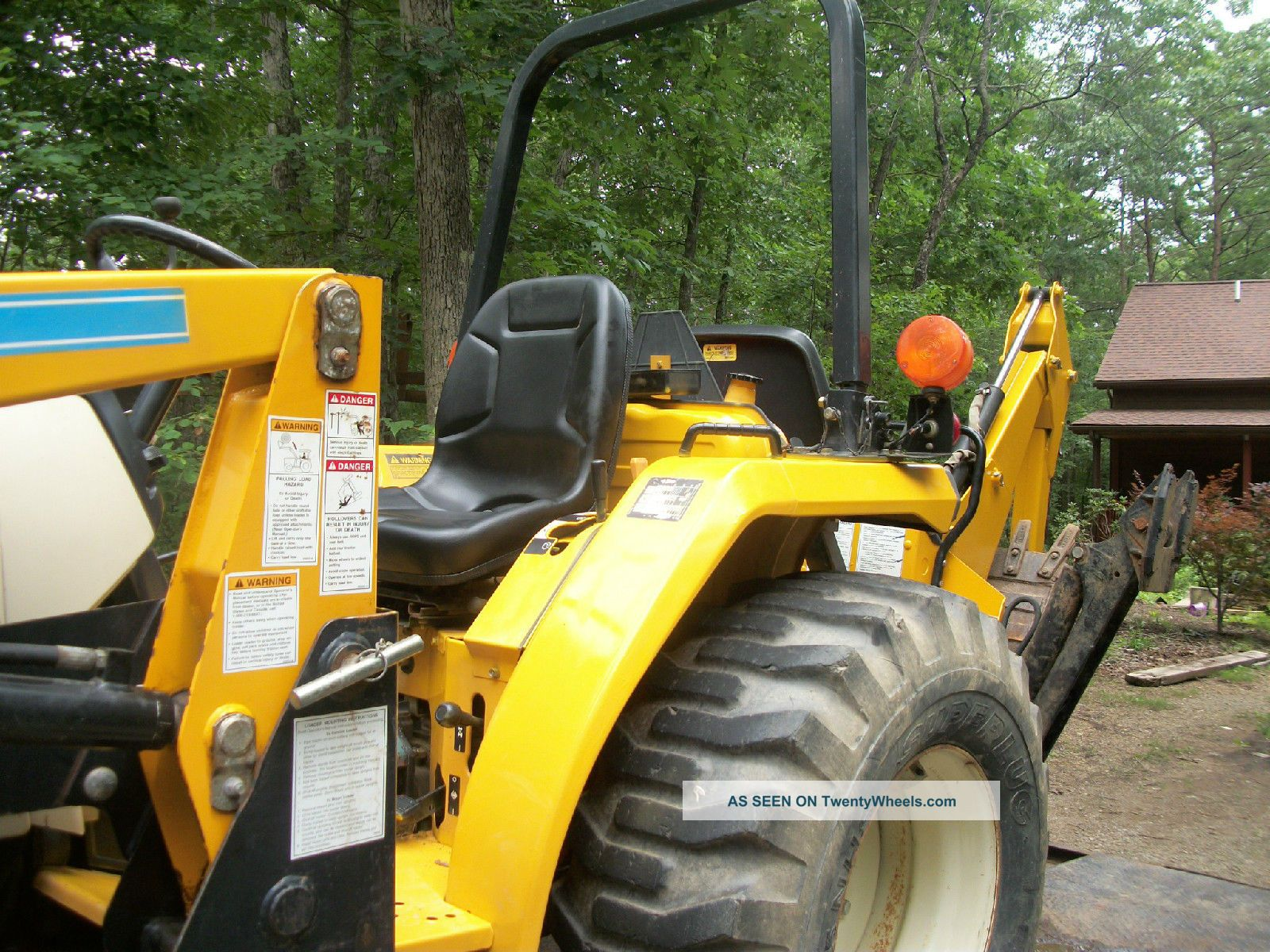 Cub Cadet Compact Tractors : Cub cadet compact tractor model with front loader and