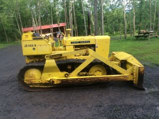 John Deere 450b Crawler Bulldozer Dozer Loader photo
