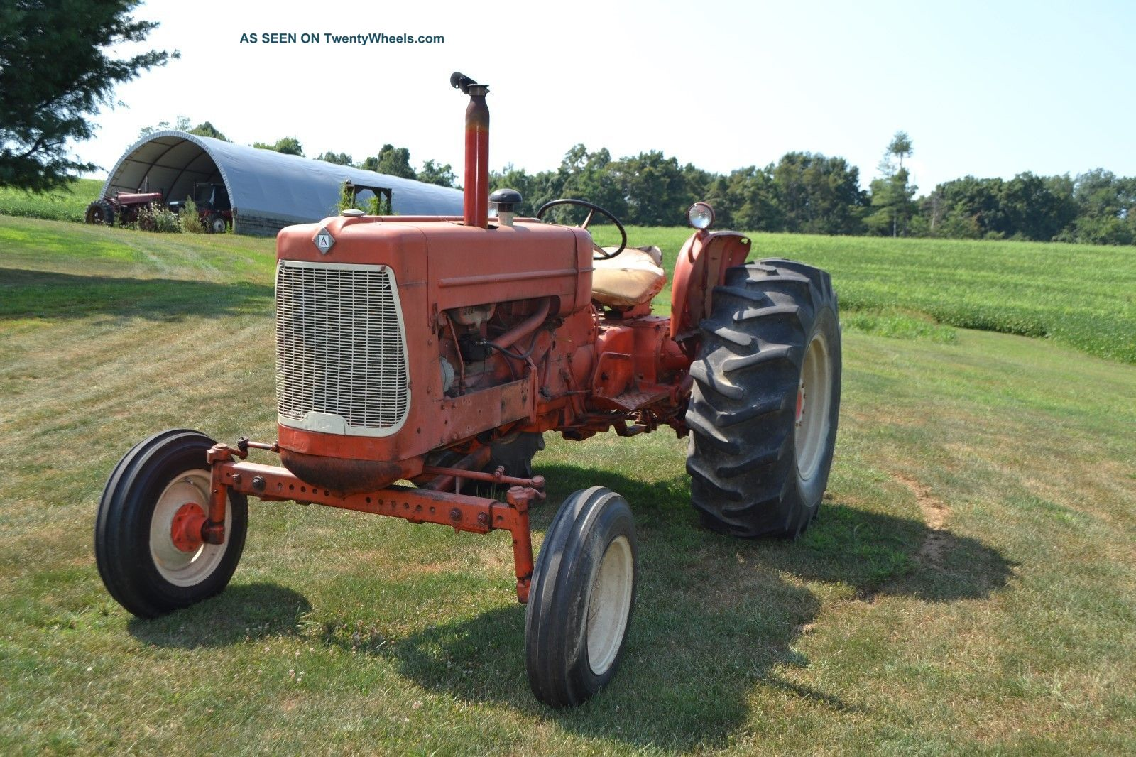 allis chalmers d17 series iv tractor wide front 3pt hit