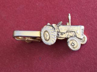 Vintage International A414 Tractor Tie Clip - Made By Stokes Melbourne photo