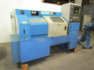 Hyundai Hit 15s Cnc Lathe W/simodrive 611 & Mayfran Chip Filter/conveyor photo