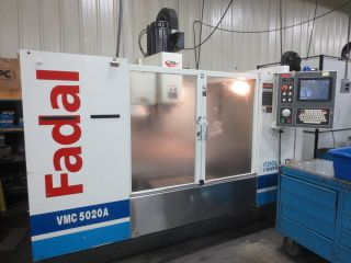 Fadal Vmc - 5020a - Ht Cnc Vertical Machining Center High Torque Spindle photo