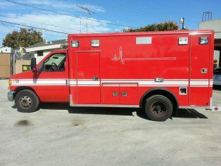 2005 Ford E - 450 Cutaway Type Iii Ambulance 6.  0l Ohv Diesel photo