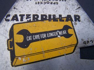 1960 ' S D6 Caterpillar Component Wear Level Gauge,  Rare Tool,  Classic Cat photo