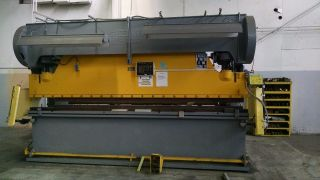 Steelweld 200 Ton Mechanical Press Brake With Cnc Back Gauge photo