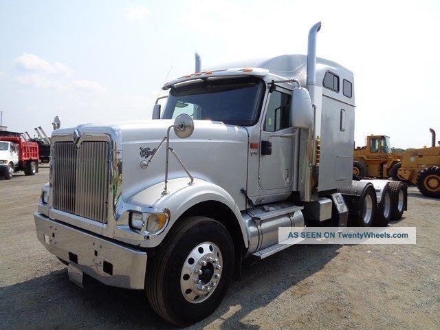 2007 International 9900i Eagle Tri Axle Heavy Hauler Truck